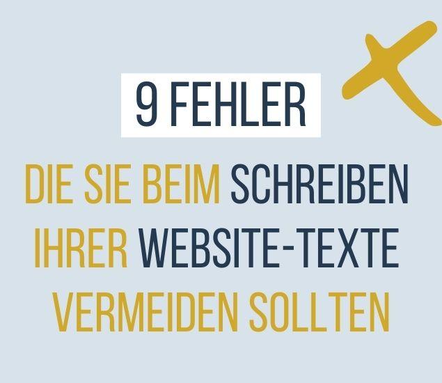 Copywriting für Website-Texte